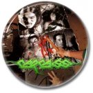 CARCASS button! (25mm, badges, pins,grindcore, heavy metal)