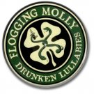 Flogging Molly button (1inch, 25mm, irish punk, badges, pins)