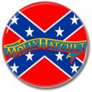 MOLLY HATCHET button! (25mm, badges, pins, heavy metal, southern rock)