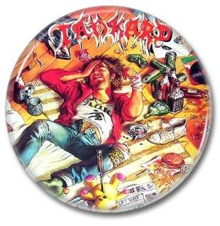 TANKARD band button! (25mm, badges, pins, heavy metal, thrash metal)