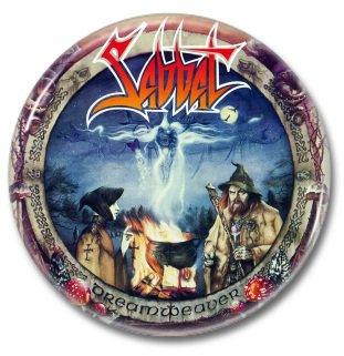 SABBAT band button! (25mm, badges, pins, heavy metal, thrash metal)