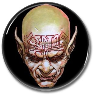 KREATOR band button! (25mm, badges, pins, heavy metal, thrash metal)