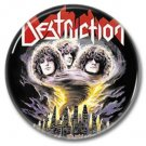 DESTRUCTION band button! (25mm, badges, pins, heavy metal, thrash metal)