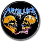 METALLICA band button! (25mm, badges, pins, heavy metal, thrash metal)