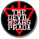 The Devil Wears Prada band button! (25mm, badges, pins, heavy metal, metalcore, deathcore)