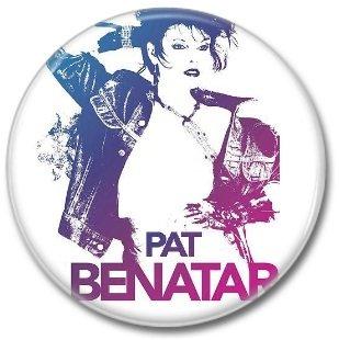 PAT BENATAR button! (25mm, badges, pins)