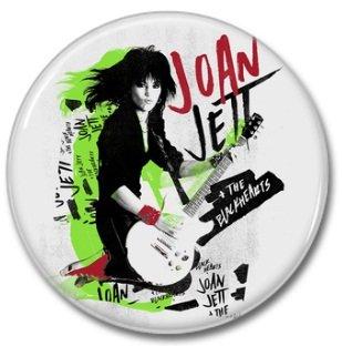 JOAN JETT button! (25mm, badges, pins)
