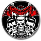 CHOP TOPS band button! (25mm, badges, pins, rockabilly, psychobilly)