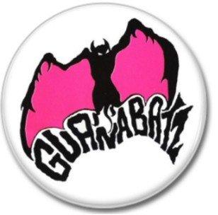 GUANABATZ band button! (25mm, badges, pins, rockabilly, psychobilly)