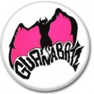 GUANABATZ band button! (25mm, badges, pins, rockabilly, psychobilly)