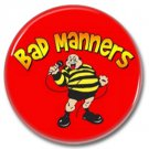 Bad Manners band button! (25mm, badges, pins, ska, punk)
