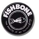 FISHBONE band button! (25mm, badges, pins, ska, punk)