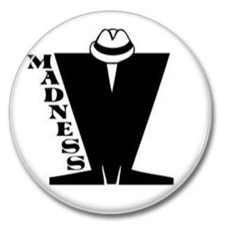 MADNESS band button! (25mm, badges, pins, ska, punk)