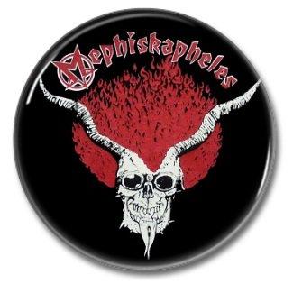 Mephiskapheles band button! (25mm, badges, pins, ska, punk)
