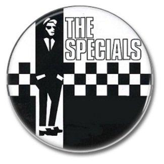 the Specials band button! (25mm, badges, pins, ska, punk)