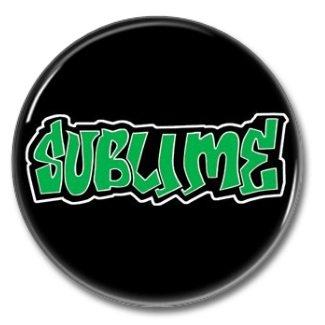 Sumblime band button! (25mm, badges, pins, ska, punk)
