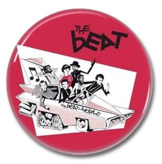the BEAT band button! (25mm, badges, pins, ska, punk)
