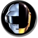 DAFT PUNK band button (badges, pins, synthwave)