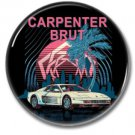CARPENTER BRUT band button (badges, pins, synthwave)