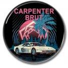 CARPENTER BRUT band button (badges, pins, synthwave)
