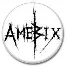 AMEBIX band button (1inch, 25mm, crust pink, badges, pins)
