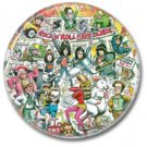 RAMONES band button! (25mm, punk, badges, buttons)
