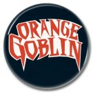 ORANGE GOBLIN button (badges, pins, stoner rock, sludge)