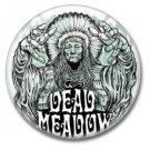Dead Meadow band button (badges, pins, stoner rock, sludge)