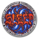 SLEEP band button (badges, pins, stoner rock, sludge)