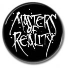 Masters Of Reality band button (badges, pins, stoner rock, sludge)