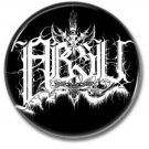 ABSU band button (25mm, badges, pins, heavy metal, black metal)