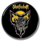 Shitfucker band button (25mm, badges, pins, heavy metal, black metal)