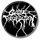 Cattle Decapitation band button! (25mm, badges, pins, heavy metal, death metal)