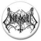 Unleashed band button! (25mm, badges, pins, heavy metal, death metal)