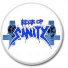 Edge Of Sanity band button! (25mm, badges, pins, heavy metal, death metal)