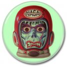NASA Astro Zombie button (badges, pins, 25mm, occult, horror)