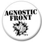 Agnostic Front band button (punk, badges, pins, 25mm)