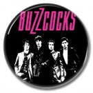 Buzzcocks band button (punk, badges, pins, 25mm)