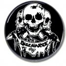 Discharge band button (punk, badges, pins, 25mm)