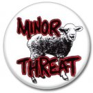 Minor Threat band button (punk, badges, pins, 25mm)