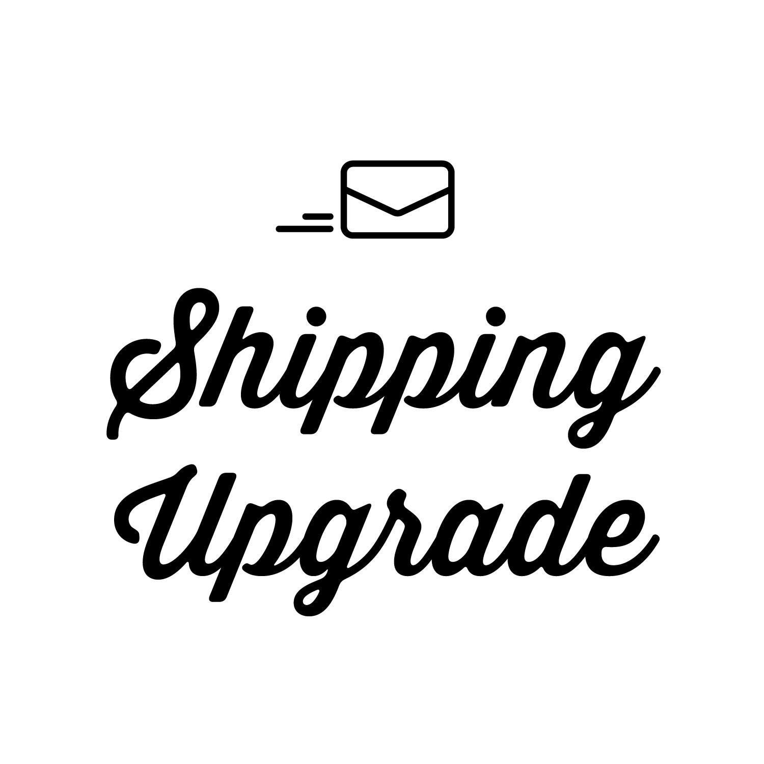 Shipping Upgrade (Registered Mail, With Tracking Number)
