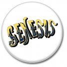 Genesis band button (prog rock, badges, pins, 31mm)