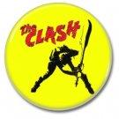 the Clash button (punk, badges, pins, 25mm)