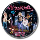 New York Dolls band button! (25mm, badges, pins, glam,70s)