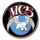 MC5 band button (badges, pins, 25mm, punk, 70s)