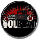 VOLBEAT band button! (25mm, punk,badges, buttons, heavy metal)