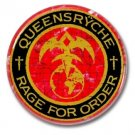 QUEENSRYCHE band button (badges,pins, 25mm, heavy metal, power metal prog)