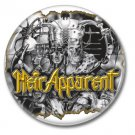 HEIR APPARENT band button (badges,pins, 25mm, heavy metal, power metal prog)