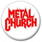 METAL CHURCH band button (badges,pins, 25mm, heavy metal, power metal prog)