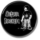 OLIVER MAGNUM band button (badges,pins, 25mm, heavy metal, power metal prog)